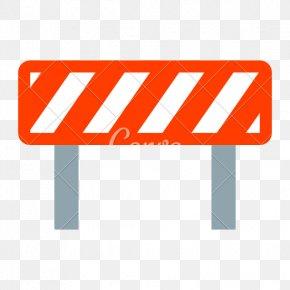 Road Block - Computer Font Download PNG