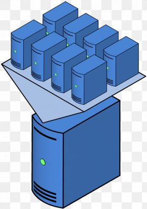 Glad Cliparts - Computer Servers Virtual Private Server Hypervisor Clip Art PNG