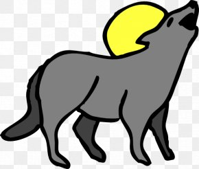 Howling Cliparts - Wile E. Coyote And The Road Runner Gray Wolf Clip Art PNG