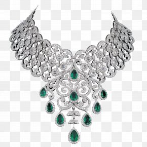 Jewellery - Earring Jewellery Necklace Diamond Choker PNG