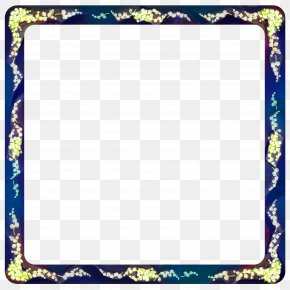 Picture Frame Rectangle - White Photo Frame PNG