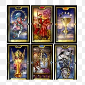 The Gilded Tarot Gilded Reverie Expanded Edition Playing Card Game PNG