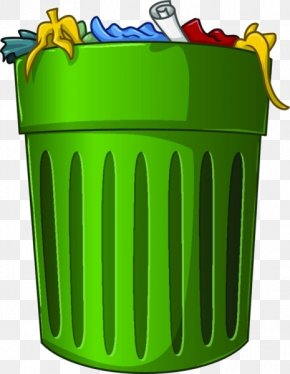 Cartoon Trash Can - Waste Container Recycling Can Stock Photo Clip Art PNG