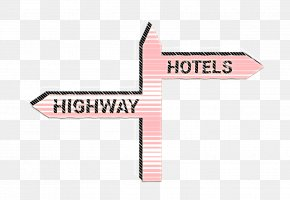 Logo Pink - Road Icon Sign Icon Two Icon PNG