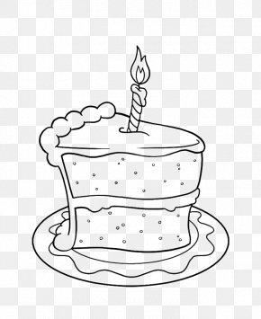 Birthday Cake Drawing - Pavlova Torte Birthday Cake Chocolate Cake Cake Slice PNG