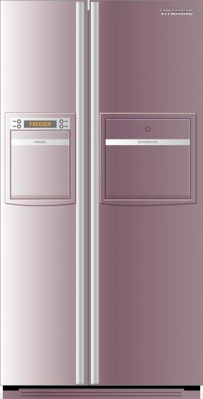 Refrigerator - Refrigerator Purple PNG