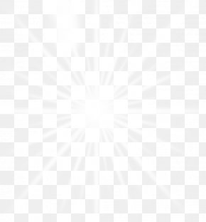 Exquisite Aesthetic Glare Light Radiation Beam - Line Symmetry Black And White Point Pattern PNG
