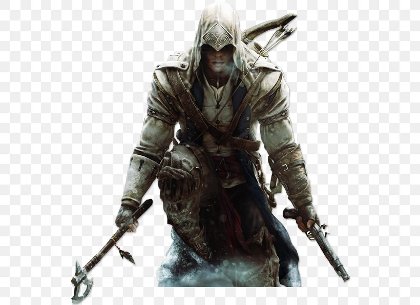 Assassin's Creed III Assassin's Creed: Brotherhood Ezio Auditore Connor Kenway, PNG, 550x595px, Assassin S Creed Iii, Action Figure, Actionadventure Game, Armour, Assassin S Creed Download Free