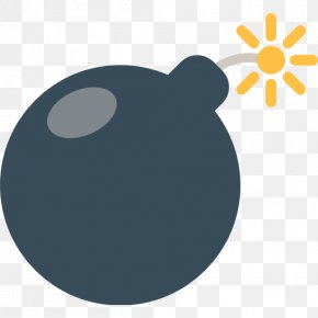 Bomb - Emojipedia SMS Text Messaging Bomb PNG