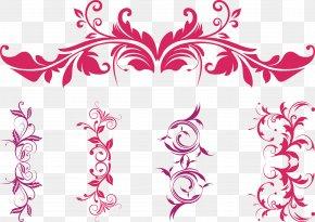 App - Floral Ornament CD-ROM And Book Calligraphic Ornaments Vector Graphics Clip Art Floral Design PNG