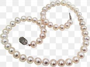 Jewelry - Pearl Material Necklace Bead Body Piercing Jewellery PNG