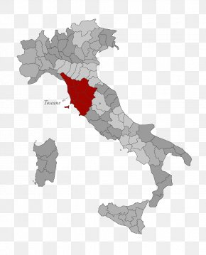 Map - Regions Of Italy Vector Map Flag Of Italy PNG