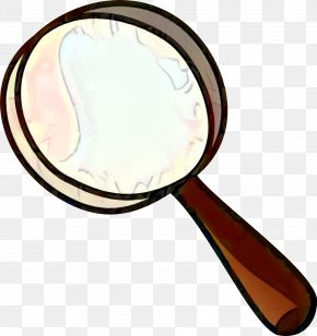 Cookware And Bakeware Makeup Mirror - Magnifying Glass Drawing PNG