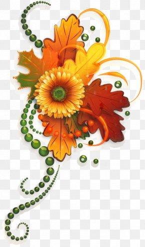 Gerbera Flower Arranging - Floral Flower Background PNG