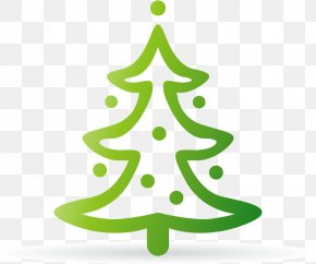 Christmas Tree Vector Material - Christmas Tree Cartoon PNG