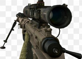 Sniper - Call Of Duty: Modern Warfare 2 Chroma Key CheyTac Intervention PNG