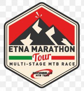 Corso Europa - Mount Etna Marathon Logo Bicycle Mountain Bike PNG