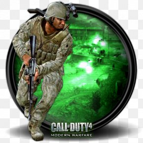 Call Of Duty 4 MW Multiplayer New 3 - Infantry Soldier Army Military Camouflage Mercenary PNG