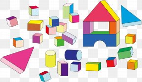 Toys - Toy Block Building Clip Art PNG