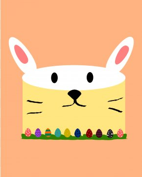 Easter Bunny - Easter Bunny Hare Holiday Clip Art PNG