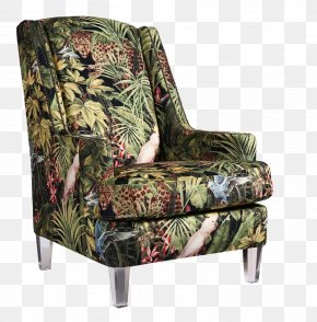 Jakli Jungle Animals Lounge Chair - Chair Couch PNG