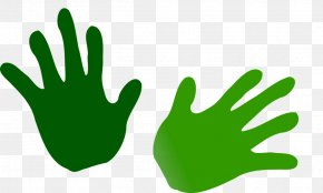 Illustrations Of Hands - Hand Green Clip Art PNG