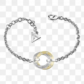 Jewellery - Guess Jewellery Bracelet Bangle Gold PNG