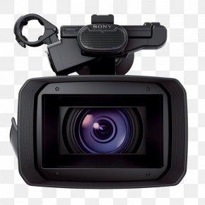 Camera - Sony Handycam FDR-AX1 Video Cameras 4K Resolution Professional Video Camera PNG