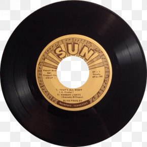 ELVIS - Sun Studio SUN RECORDS Phonograph Record Elvis At Sun Sound Recording And Reproduction PNG