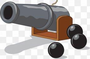 Vector Hand-drawn Artillery - T-shirt Bumper Sticker PNG