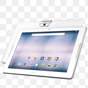 White Tablet - Android Computer IPS Panel MediaTek Multi-core Processor PNG