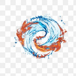Water And Fire Taiji - Fire PNG