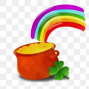 Plant Rainbow - St Patricks Day Rainbow PNG
