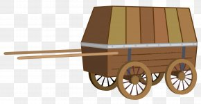 Covered Wagon Cart Conestoga Wagon Vehicle PNG