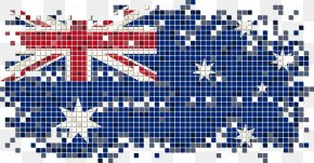 Vector Flag Of Australia - Flag Of Australia National Flag PNG