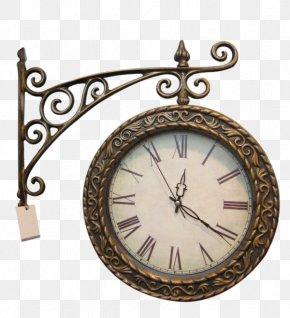 Retro Clock - Halifax Town Clock Table Alarm Clock Antique PNG
