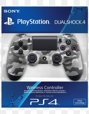 Ps4 Controller - PlayStation 4 PlayStation 3 Game Controllers DualShock PNG
