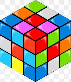 Color Rubik's Cube - Rubiks Cube PNG