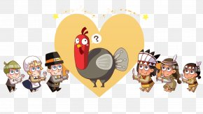 Thanksgiving Pattern - United States Turkey Thanksgiving Public Holiday Children Learn English PNG