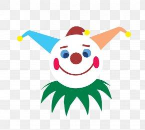 Clown Head - Clown Circus Clip Art PNG