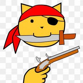 Orange Cartoon Cats - Cat Piracy Cartoon Clip Art PNG