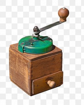 Hand Coffee Mill - Coffee Clip Art PNG