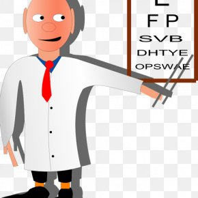 Eye Test Cliparts - Eye Care Professional Eye Examination Optometrist Clip Art PNG