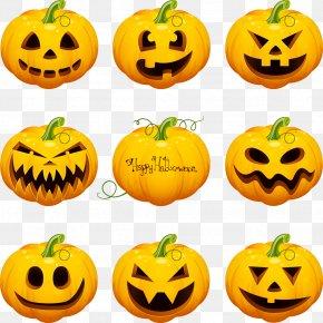 Vector Material Halloween Pumpkin - Halloween Jack-o'-lantern Pumpkin Calabaza Adhesive Tape PNG