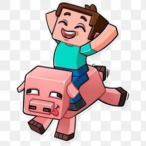 Sticker Minecraft - Minecraft Clip Art Sticker Video Games Telegram PNG