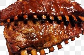 Barbecue - Smokin' Joe's BBQ Barbecue Sauce Spare Ribs PNG