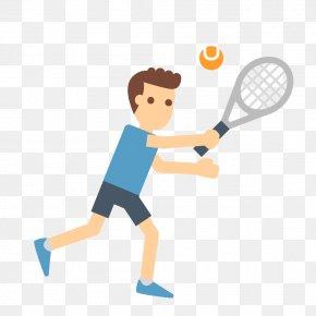 Modern Tennis Fitness - Tennis Badminton Rackets Sport PNG