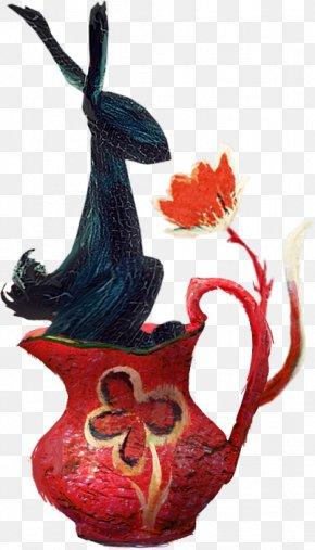 Flower Bunny - .net Blog Illustration PNG
