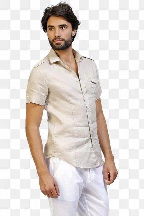 T-shirt - T-shirt Man Painting White PNG