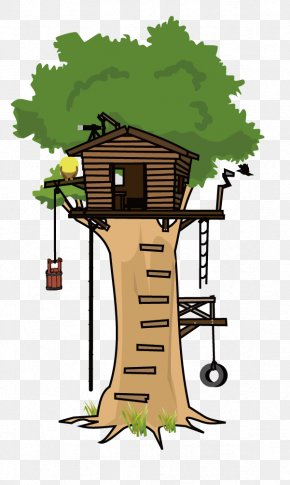 Vector Tree House - Tree House Clip Art PNG